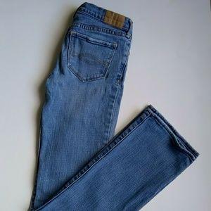 Abercrombie Haley stretch jeans 12 slim girls